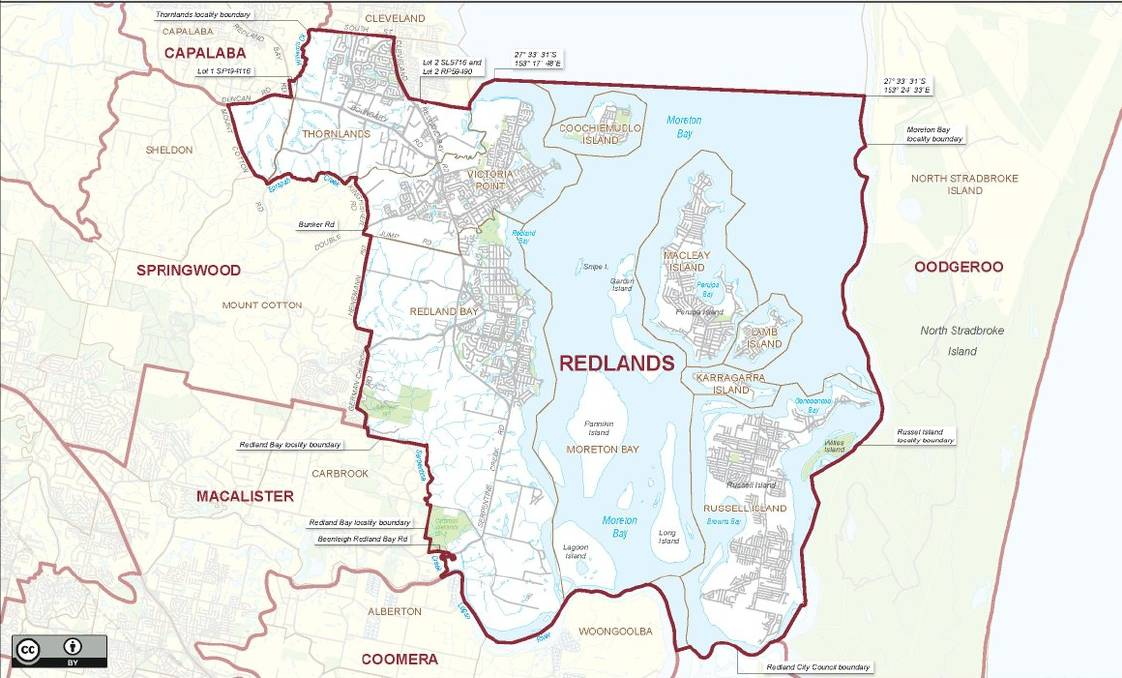 VOTE: The Redlands electorate covers the Southern Moreton Bay Islands, Victoria Point, Redland Bay and Thornlands.