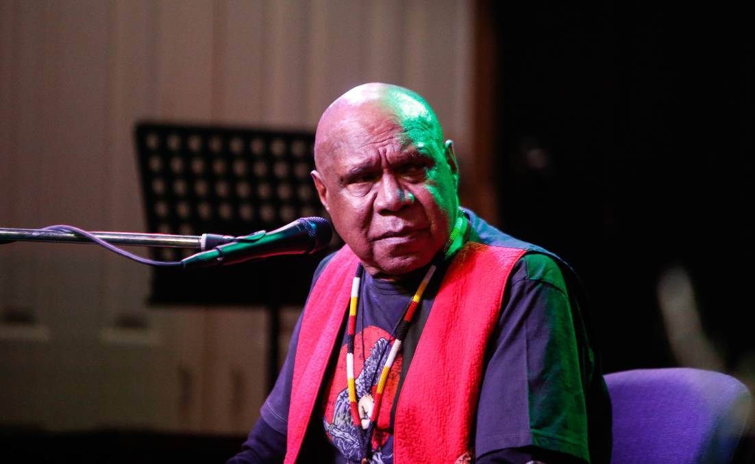 Archie Roach was honoured to be recognised as Victoria's Australian Of The Year for 2020. Picture: Anthony Brady