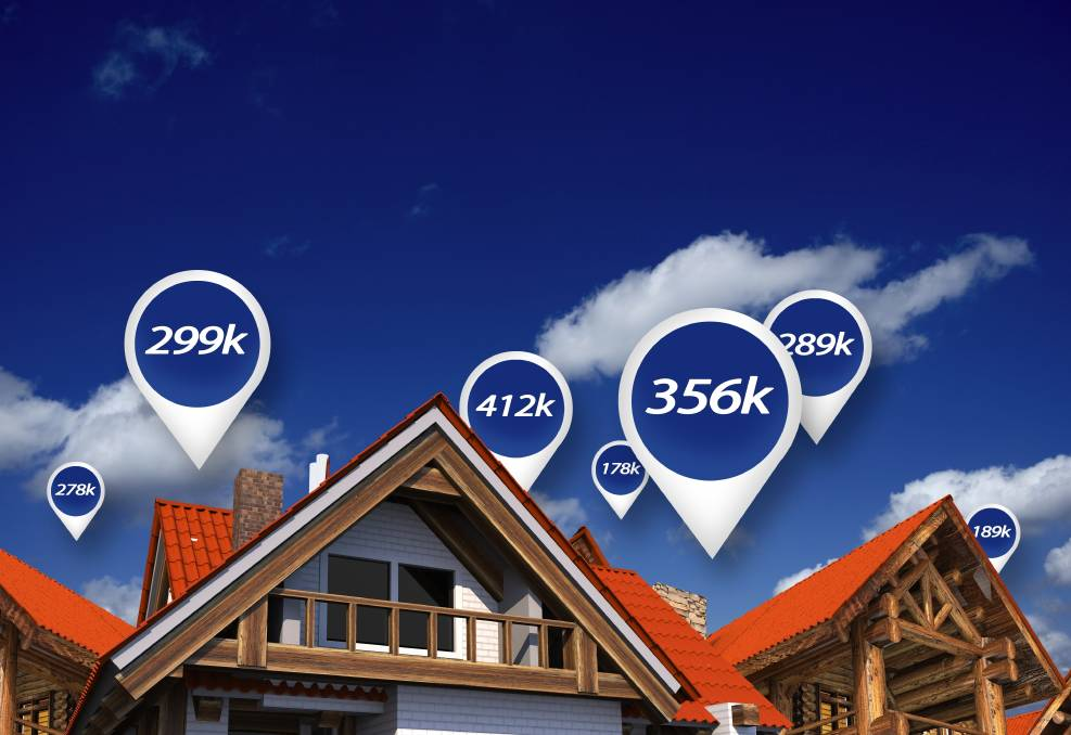 ONE CLICK: You can now check the value of your property from our website.