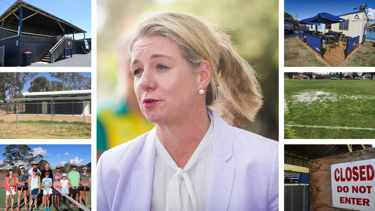 The woman in the middle of the sports grants scandal: senator Bridget McKenzie.